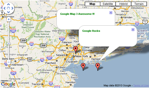 Google Map 3 With Multiple Locations In Asp Net C Deepu